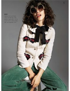 """""""Look the Part"""" The Sunday Times Style Magazine June 2017 Fashion Editor, Editorial Fashion, Editorial Photography, Fashion Photography, Photography Tips, Gucci Pre Fall 2017, Runway Magazine, New York Times Magazine, Shady Lady"""