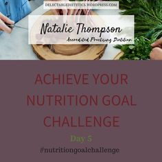 It's Day 5 of The Achieve Your Nutrition Goal Challenge - MAINTAINING MOTIVATION WHILST WORKING ON YOUR NUTRITION GOAL.  Today we look at the components that help us to stay motivated on our change journey. We explore measuring progress plan review relapse prevention and rewards.  Join us if you are: Are you struggling to improve your nutrition? Do you need support around setting a nutrition goal and action plan that will help you to improve your nutrition? Do you struggle with motivation…