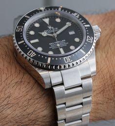 Rolex Sea-Dweller 4000 Ref. 116600 Watch For 2014 Hands-On