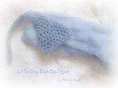 Little dreamer boy mohair elf hat and matching by pinkladybuggirl, $22.00