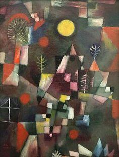 Pleine lune, par Paul Klee - 1919