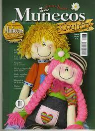 Resultado de imagen para moldes muñecos country gratis