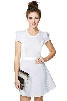 Wonderland Quilted Dress