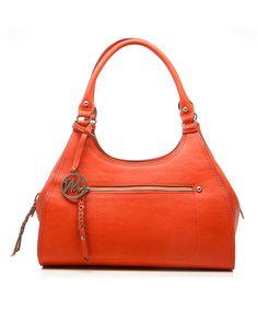 Red Breana Shoulder Bag