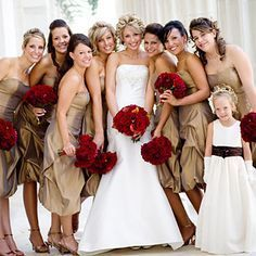 This wedding party color scheme is great. Description from pinterest.com. I searched for this on bing.com/images