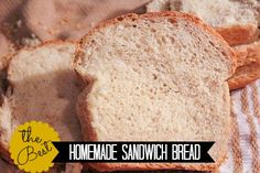 Our Favorite Homemade Sandwich Bread- seriously I make 2 loaves every other day for my family and refuse to go back to store bought bread. This is easy and affordable and very easy to change and adapt!