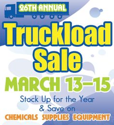 Stock up for the year at out 26th Annual Truckload Sale at all Sabine Pools, Spas & Furniture locations!! www.sabinepools.com
