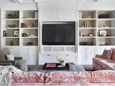 Use these remodeling ideas as inspiration to create a more functional living room, while adding value to your home.