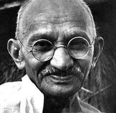 """Action expresses priorities."" - Mahatma Gandhi"