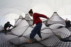 Net Blow Up : le château gonflable pour adultes ! Aire de jeux d'adultes