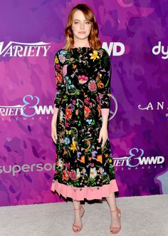 Emma Stone attends the 2nd Annual StyleMaker Awards hostd by Variety and WWD at Quixote Studios West Hollywood on November 17, 2016 in West Hollywood, California.