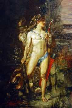 Gustave Moreau - Hercules and the Lernaean Hydra (detail)