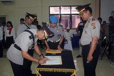 Ini Para Perwira Baru Pegang Jabatan Strategis di Jajaran Polres Minsel Manado, Captain Hat