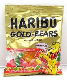 Haribo Gummy Bears theses r Expensive but definitely flavorful than Other brands!