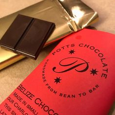 Amazing dark #chocolate by @pottschocolate - if you live near #CLT you have to try some.