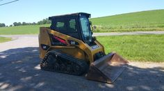 2004 Caterpillar 247 Compact Track Skid Steer Loader Diesel Engine Construction