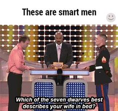 These are smart men