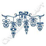 Tattered Lace Bauble Swag Die