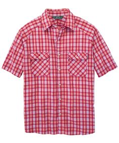 Woolrich Sycamore Shirt in Red Plaid