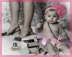 Great Photography Idea :) I had to share my baby girl with the world of course :)