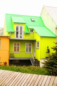 from the Cherry Blossom Girl's blog, during her trip to Reykjavik, Iceland.