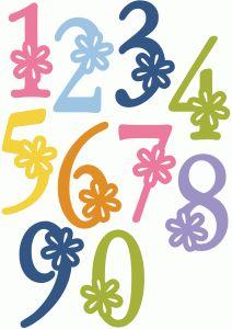 Flower alpha - numbers