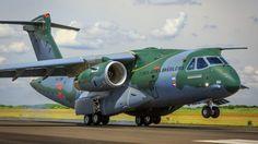 Parte dos componentes do KC-390 são fabricados em Portugal pela Embraer e a OGMA (FAB)