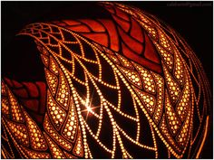 Table lamp X - Fractal - by night 8 by Calabarte on DeviantArt