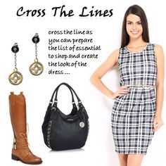 Cross the lines > http://faborskip.com/post/105605028425/cross-the-lines-cross-the-line-as-you-can   Cross the line as you can prepare the list of essential to shop and create the look of the dress …