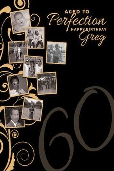 C0124 Custom Milestone Birthday Photo Backdrop Banner Gold Black 60th 50th 40th (Shower, Anniversary Graduation)