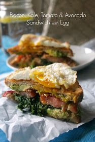 """The Kitchen Prep: The """"BKTA Sandwich"""" {Bacon, Kale, Tomato & Avocado}"""