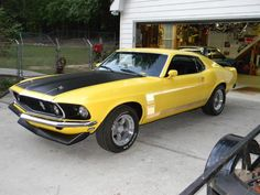 """1969 Ford Mustang """"Boss"""" 302"""