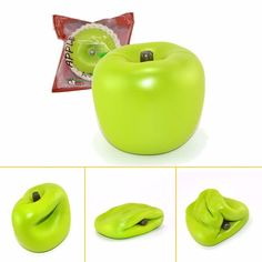 Areedy Squishy Green Apple 10cm Slow Rising With Original Packaging Fun Gift Decor