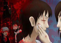 Challenge: scars by HamoridzuYato.deviantart.com on @DeviantArt