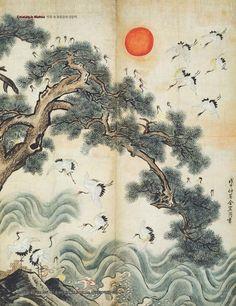 Korean Art, Asian Art, House Colouring Pages, Buddha Art, 2d Art, Sacred Art, Fantasy Artwork, Art Pictures, Aesthetic Wallpapers