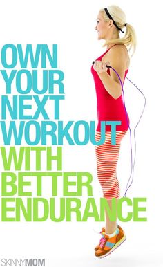 Take your workout to the next level with increasing your endurance?
