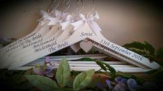 www.facebook.com/customisedbysharon www.etsy.com/shop/customisedbysharon www.customised-by-sharon.co.uk #wedding #weddinghangers #bridalhangers #personalisedhangers #bridesmaidgifts #bridesfreewhenyoubuy3ormore #flowergirlhangers #customisedbysharon #madewithlove #beautifulinwhite