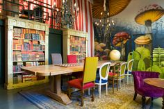 Pudding, a child friendly cafe and coffee shop/study space. Barcelona, Spain…