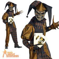 Kids Costumes Evil Jester Costume Kids Scary Halloween Fancy Dress BUY IT NOW ONLY $30u2026 | jester | Pinterest | Evil jester costume Evil jester and Jester ...  sc 1 st  Pinterest & Kids Costumes: Evil Jester Costume Kids Scary Halloween Fancy Dress ...