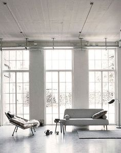 white | glass | interior