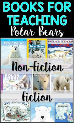 Need a list of books for teaching your students about polar bears? Check out these interesting and engaging non-fiction and fiction books, perfect for kindergarten and first grade.