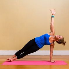 16 Yoga  positions For Muffin Top
