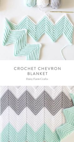 Crochet Afghans Ideas Free Pattern - Crochet Chevron Blanket - A crochet chevron blanket pattern consists of peaks and valleys. So, understanding this, a chevron pattern can easily be achieved. In my pattern, each peak Crochet For Beginners Blanket, Crochet Blanket Patterns, Baby Blanket Crochet, Crochet Afghans, Crochet Blankets, Beginner Crochet, Chevron Crochet Blanket Pattern Baby, Baby Afghan Patterns, Chevron Baby Blankets