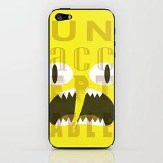 This... iphone skin... is... UNACCEPTABLE!!! UNACCEPTAAAABLE!!! #adventuretime #lemongrab #illustration #vector