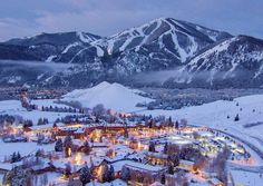 Travel from Atlanta: A weekend in Sun Valley-Ketchum, Idaho Best Places To Live, Oh The Places You'll Go, Places To Travel, Sun Valley Idaho, Ski Vacation, Vacation Destinations, Vacation Ideas, Top Vacations, Winter Vacations