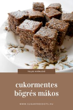 Diabetic Recipes, Diet Recipes, Healthy Recipes, Healthy Desserts, Healthy Cooking, Healthy Food Options, Cake Bars, Paleo, Kaja