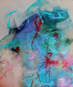 Original Modern Artwork Abstract Painting by kerriblackmanfineart, $165.00