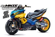 Ideas for electric bike sketch Concept Motorcycles, Yamaha Motorcycles, Cars And Motorcycles, Yamaha Scooter, Scooter Motorcycle, Moto Car, Moto Bike, Scooter Design, Bike Design