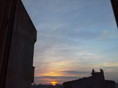 güneşin sabaha uyanışı
