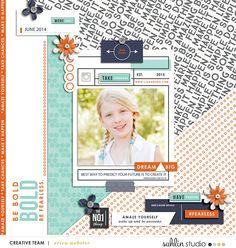 Digital Scrapbooking Inspiration  Credits:  Like A Boss Kit Like A Boss Journaling Cards  Sahlin Studio @ The-Lilypad
